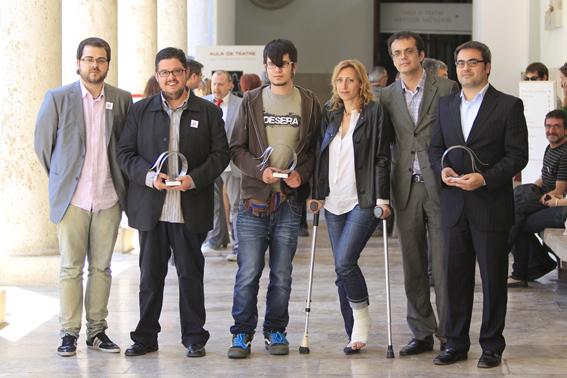 Lliurament Premi Llibertat d'Expressió 2012. Foto: Levante-EMV